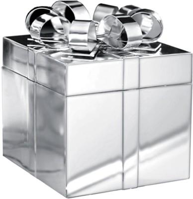 Treta Silver Ribbon Makeup and Jewellery Vanity Box