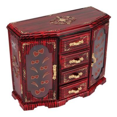 Tuelip Double Door-Cupboard Design MakeUp Vanity Box