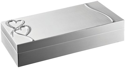 Momentz Rectangle Box - Heart Jewellery Vanity Box