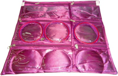 Atorakushon Jewellery Organizer Folding Bangle Pouch Box Vanity Vanity Box