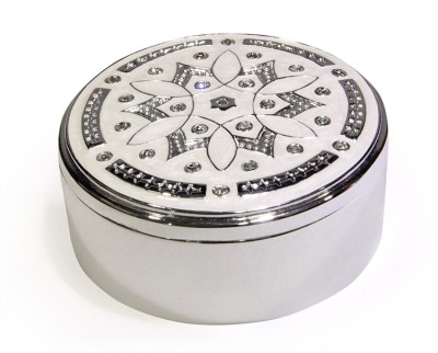 Treta A Beautiful Round Box Jewelry Vanity Box