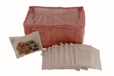 K&P Designer 10 Kit Makeup, Jewellery Vanity Box