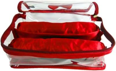 Atorakushon 2 Rods Bangle box Jewellery Organiser Pouches Storage Case Vanity Box