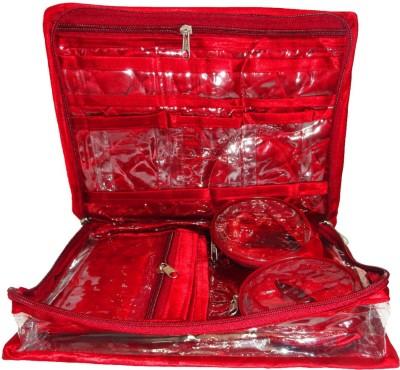 Atorakushon Jewellery Organizer Folding Bangle Pouch Box Storage Vanity Box
