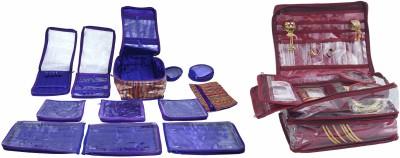 Bahurani Boutique Combo Of Double Vanity Box