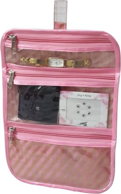 Fashionista Mini Kit Makeup and jewellery Vanity Box(Pink)