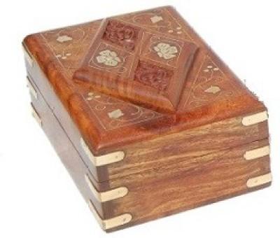 Jupiter Gifts And Crafts Kashmiri Work Storage Vanity Box