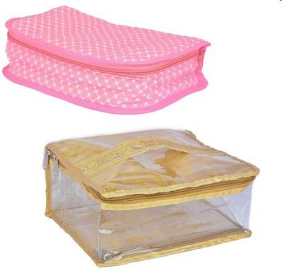 MB MalhotraBag-52-17-14 1 jwellary kit and 1 mackup pouch Vanity Box