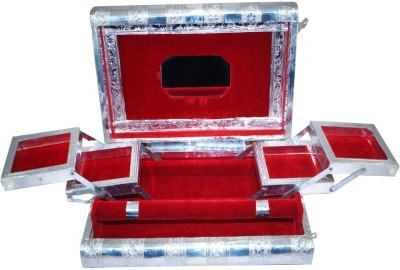 Nidhi Meenakari Jewellery Multipurpose Vanity Box