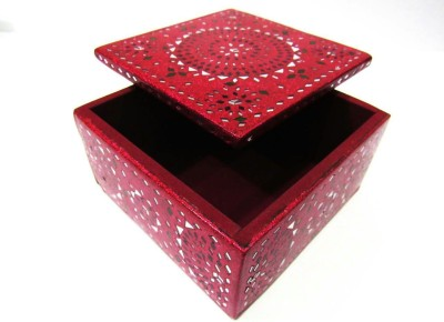 JOSHI ARTS laac & cut mirrors Make up, jewellery Vanity Box