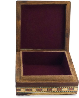 R S Jewels Handicrafts Gemstone Painting Jewellery Vanity Box