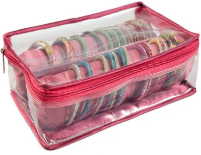 Ermani Export TraditionalRed 2 Roll Bangle Care Vanity Box