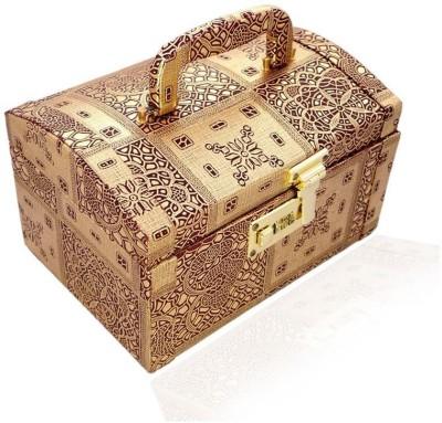 Ermani Export Wooden Women Makup Box, Jewellery Box Makeup Vanity Box