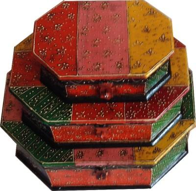 Mavi Painted Jewellery Vanity Box