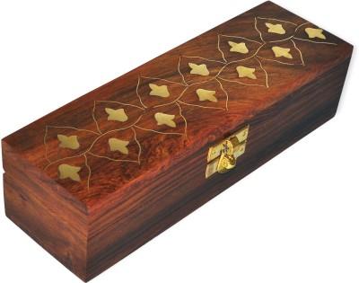 Dakshcraft Brass Inlay Jewelry Box Makeup And Jewellery Vanity Box