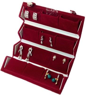 Atorakushon Earring Folder Jewelry Storage Vanity Box