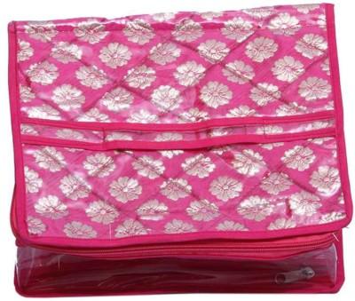 Ermani Export Make Up Kit & 2 Rod Bangle Box In Brocade - Combo Of 2 Bangle Box Vanity Box
