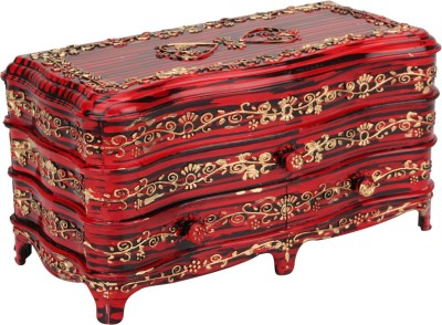 Tuelip Antique RoseWood Classic-3 Jewellery & MakeUp Vanity Box