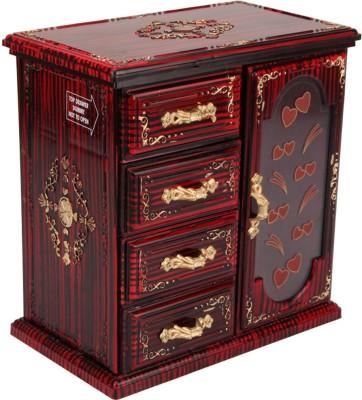 Tuelip Single Door-Cupboard Design Jewellery & MakeUp Vanity Box