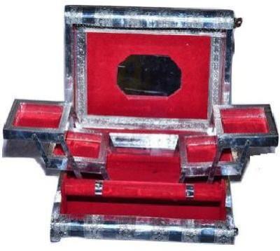 Fateh Enterprises Jewellery Makeup Holder Vanity Box