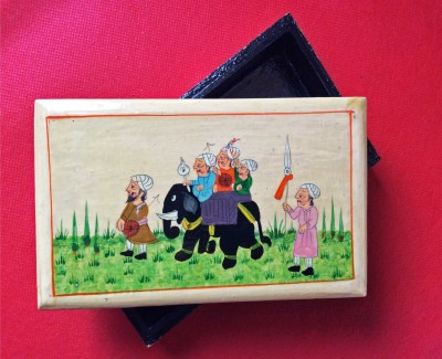 The Koshur Kul Multi purpose handcrafted box Multi purpose Vanity Box