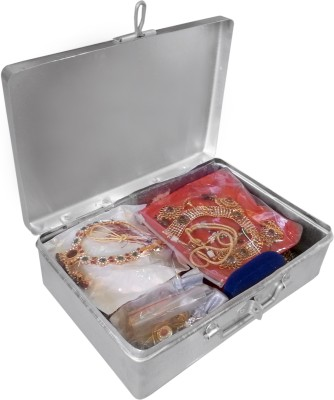 Jayco Aluminium Jewel Packing and Storage Box - Medium Jewellery / Cash / Documents Storage / Packing / Shipping Vanity Box