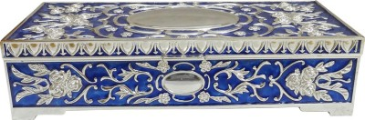The Divine Luxury Silver Plated Box Jewelry Vanity Box