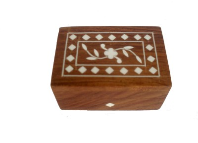 Sheela's Arts&Crafts SH02449 Makeup & Jewellery Vanity Box(Brown)
