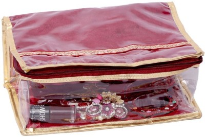 Kuber Industries Make Up Kit, Cosmetic Kit, (Laminated) Jewellery Vanity Box