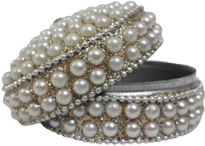 Dineshalini Round45 Jewellery Box Vanity Box