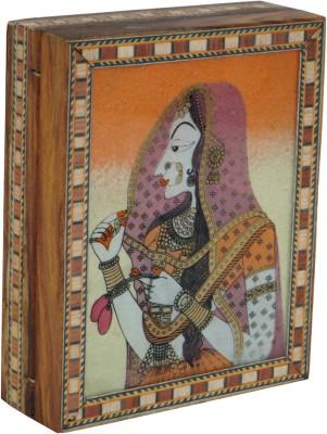 R S Jewels Jaipur Gem Stone Painting Wooden Handicraft Jewellery Vanity Box