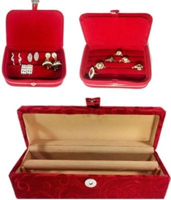 Lnc 1 Rool Plus Ring,Earing Box Jewellary Storage Vanity Box