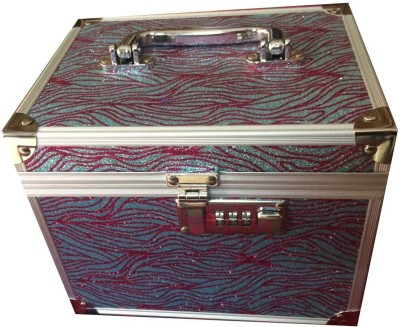 Platinum Shimmer Makeup, Jewellery Vanity Box