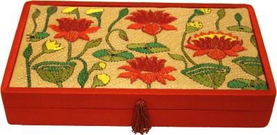 Ganges Art Gallery Kantha Stich Multipurpose Box Jewellery Vanity Box