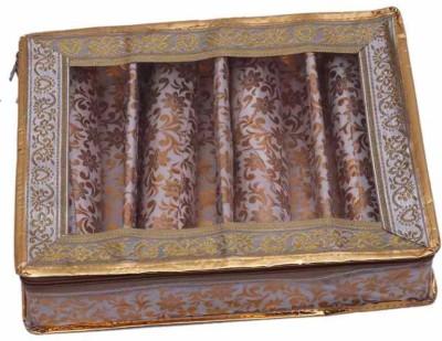 Ermani Export TraditionalGolden 4 Roll Bangle Care Vanity Box