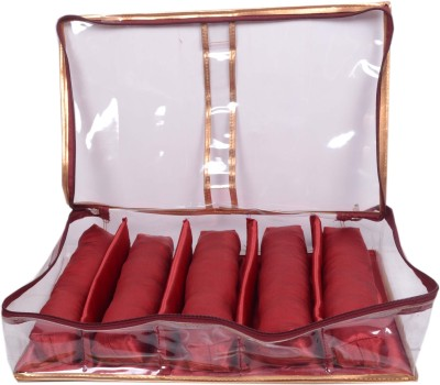 Styler Transparent Soft Bangle Pouch 5 Rod Fashion Vanity Box