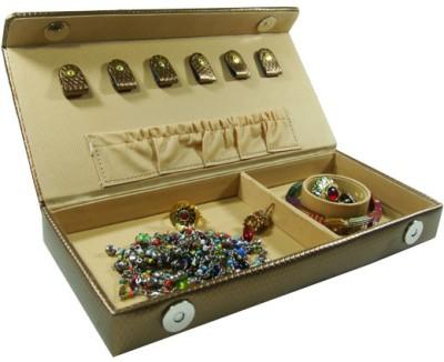Essart Box 0072B Makeup and Jewellery Vanity Box