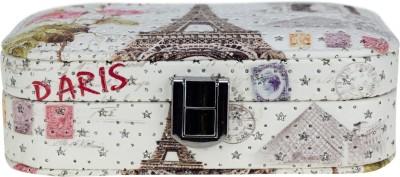 Avenue Eiffel Tower Paris Makeup, Jewellery Vanity Box