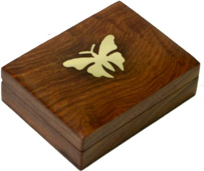 Craftuno Handcrafted Wooden Jewellery Box Utility Vanity Box
