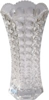 Ruhi's Creations Crystal Vase(9.5 inch, White)