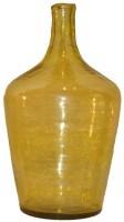 Salt & Grey Interiors Glass Vase(15 inch, Yellow)