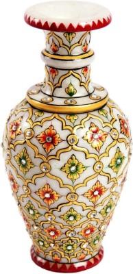 Treasure Hunt Embelished Marble Ceramic Vase