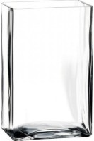 Pasabahce Glass Vase(8.75 inch, Clear)