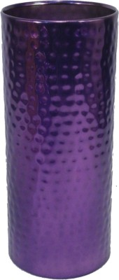 GolMaalShop Pilleriron Hammered Flower Iron Vase
