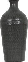 Yudezine Iron Vase(16.7 inch, Black)