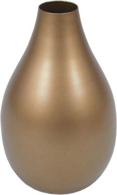 GolMaalShop Finish Flower Sm Iron Vase