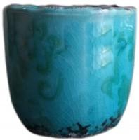 Potsnmore Ceramic Vase(0 inch, Blue)