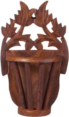 Decorhand Wooden Flower Vase Wooden Vase