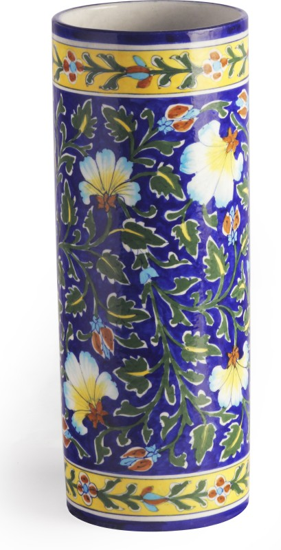 Neerja Ceramic Vase(Blue)