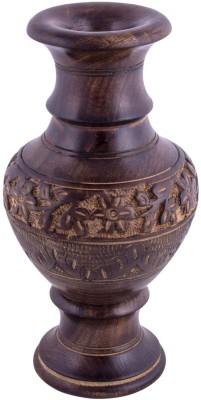 Craft Art India Carved Wooden Vase